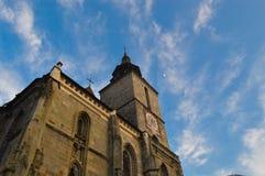 черная церковь brasov Стоковое Фото