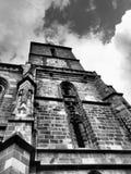 черная церковь brasov Стоковое Изображение