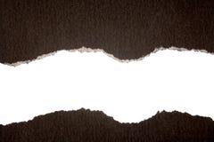 черная часть карточки Стоковые Изображения