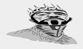 черная часть короля поля глубины шахмат отмелая Стоковое Изображение RF