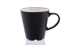 Черная чашка Стоковые Фото