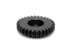 черная шестерня Стоковое Изображение RF