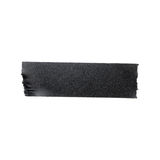 Черная штейновая изолированная лента ткани Стоковое Изображение RF