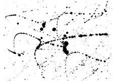 Чернила закрывают предпосылку grunge городскую, влияние брызгают щеток акварели Текстура вектора элемента overlaid иллюстрация штока