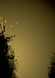 чернила золота сопротивления Стоковое Изображение