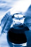 чернила пера бутылки Стоковая Фотография RF