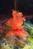 чернила подводные Стоковое Изображение RF