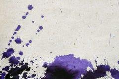 чернила помарками Стоковое Изображение