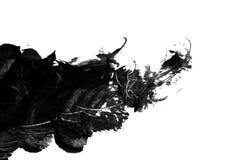 чернила помарками Стоковое Фото
