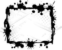 чернила рамки стоковое фото