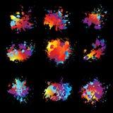 чернила 9 распыляют изменение бесплатная иллюстрация
