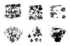 Чернила пятна стоковые изображения