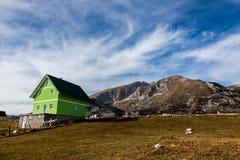 Черногория большие горы горы ландшафта Стоковые Изображения RF