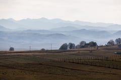 Черногория большие горы горы ландшафта Стоковая Фотография
