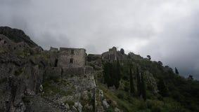 Черногория, крепость Стоковые Изображения