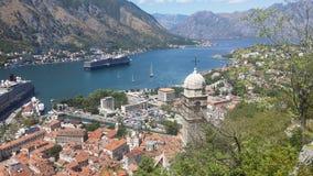 Черногория-Kotor Стоковое Изображение