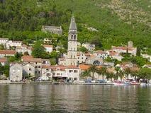 Черногория, Perast стоковое изображение rf