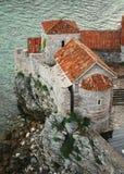 Черногори, Budva Стоковые Фото