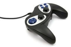 черное видео игры регулятора Стоковые Изображения RF