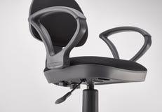 Черное вращающееся кресло офиса Стоковое Изображение RF