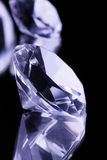 черное зеркало gemstones стоковые изображения rf
