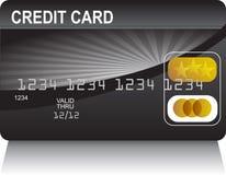 черное золото кредита карточки бесплатная иллюстрация