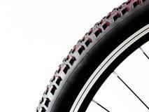 Черное и красное колесо велосипеда Стоковое фото RF