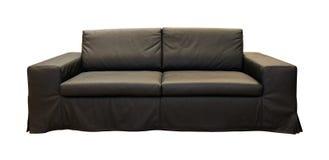 черное кресло Стоковое фото RF
