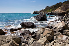 черное море гавани Стоковое фото RF