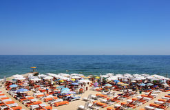 черное море свободного полета Стоковая Фотография