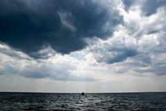 черное море стоковые фото
