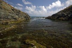 черное море Стоковая Фотография
