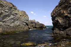 черное море Стоковое фото RF