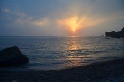 черное море стоковая фотография rf