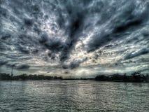 черное небо Стоковые Изображения