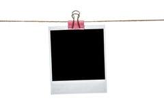 черное немедленное фото Стоковая Фотография RF
