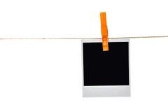 черное немедленное фото Стоковые Фото