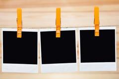 черное немедленное фото Стоковое Изображение RF