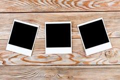 черное немедленное фото Стоковое фото RF