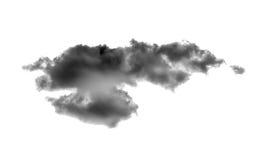 черное облако стоковые фотографии rf