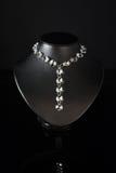 черное ожерелье манекена Стоковые Изображения RF