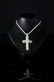 черное ожерелье манекена Стоковое Изображение