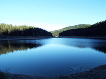 Черное озеро Стоковое фото RF