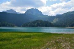 Черное озеро (jezero) Crno - Durmitor Стоковая Фотография