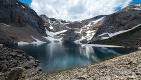 Черное озеро Karagol в Турции Стоковые Фото