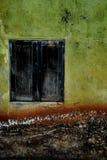 черное окно Стоковая Фотография