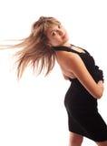 черное платье немногая Стоковые Фотографии RF