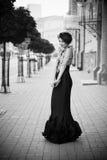 черное платье Стоковые Изображения RF