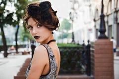 черное платье Стоковое Изображение RF