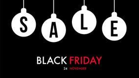 Черное предложение дизайна праздника продажи пятницы Стоковые Фотографии RF